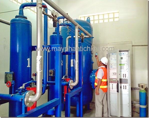 Khảo sát hệ thống phân tích khí cacbonic tại nhà máy Pepsi